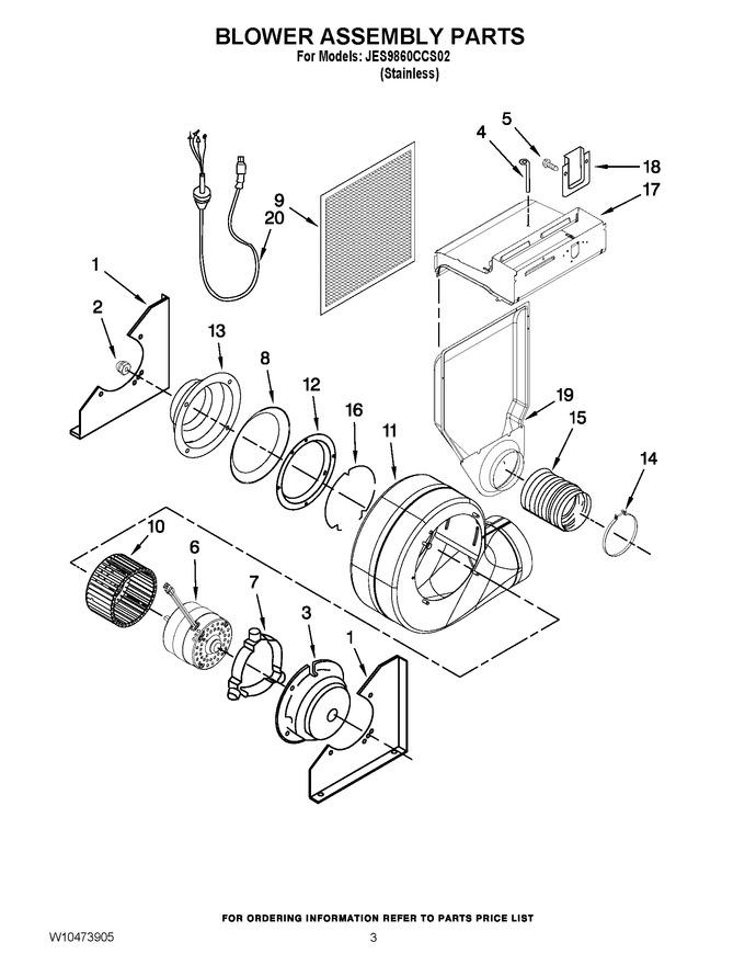 Diagram for JES9860CCS02