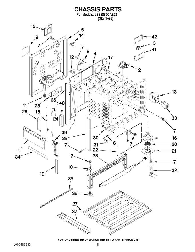 Diagram for JES9860CAS02