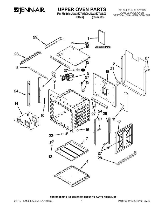 Diagram for JJW2527WS00