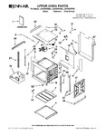Diagram for 01 - Upper Oven Parts