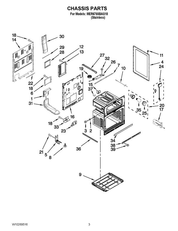 Diagram for MER6765BAS18