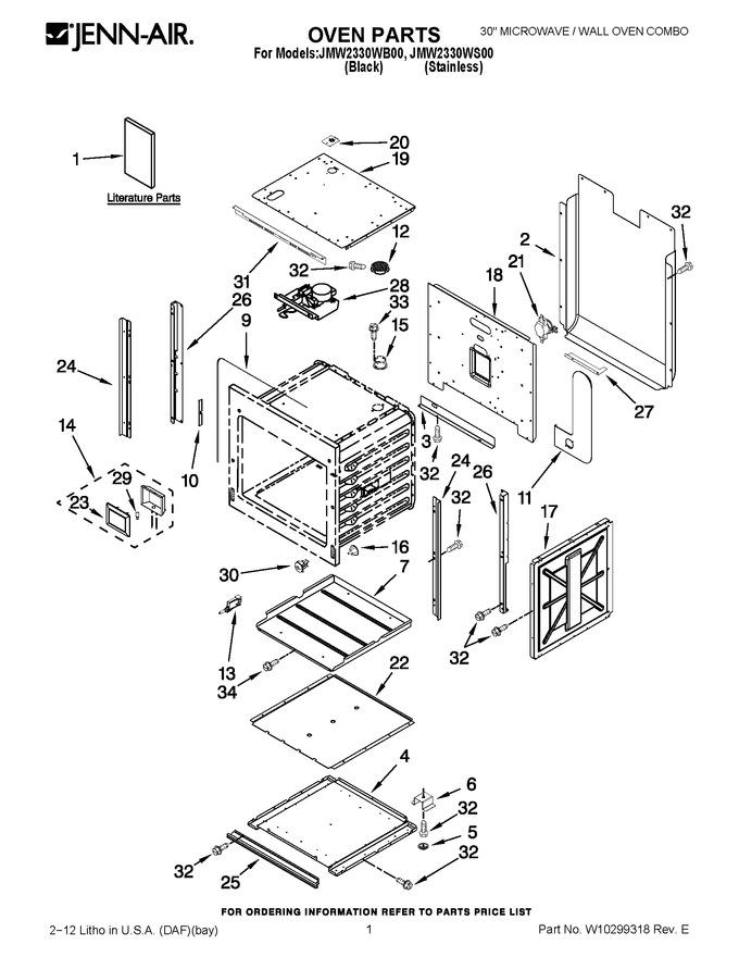 Diagram for JMW2330WS00