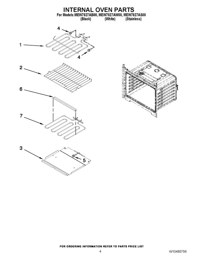 Diagram for MEW7527AB00