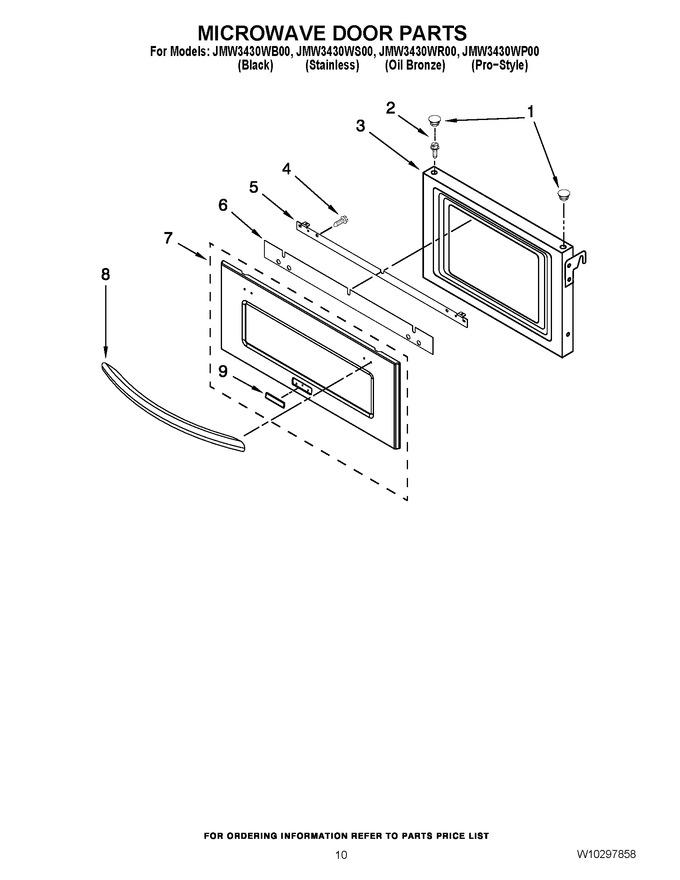 Diagram for JMW3430WB00