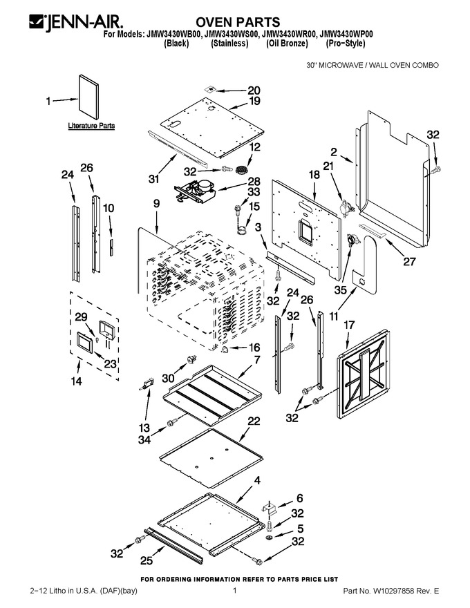 Diagram for JMW3430WS00