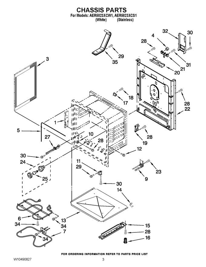 Diagram for AER5823XCS1