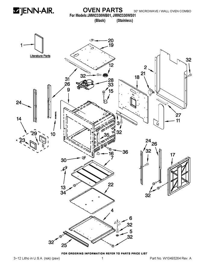 Diagram for JMW2330WB01