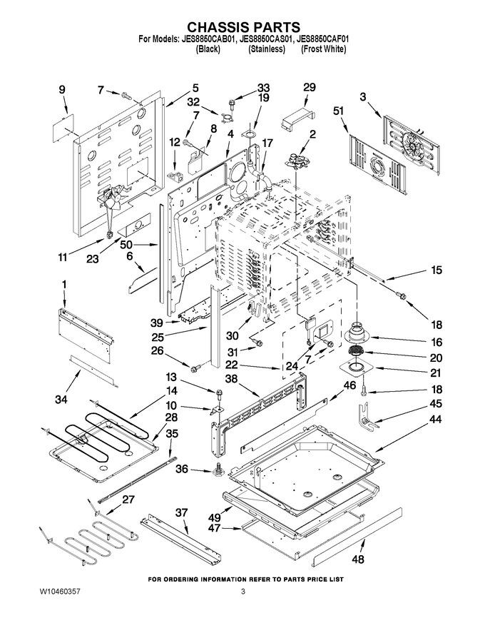 Diagram for JES8850CAF01