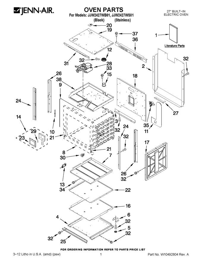 Diagram for JJW2427WB01