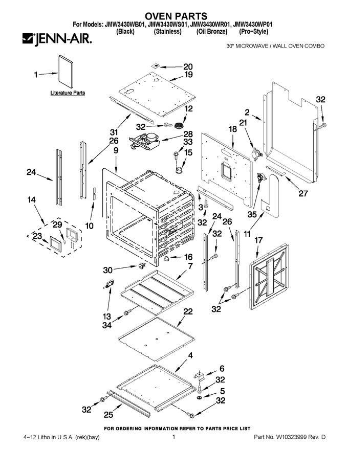Diagram for JMW3430WS01