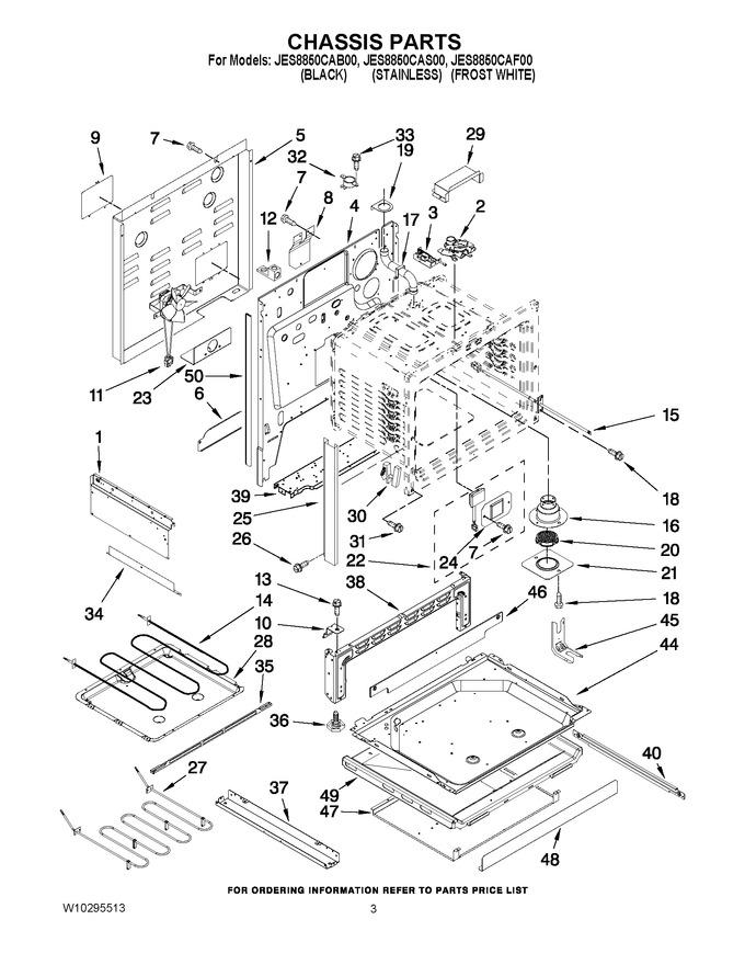 Diagram for JES8850CAS00