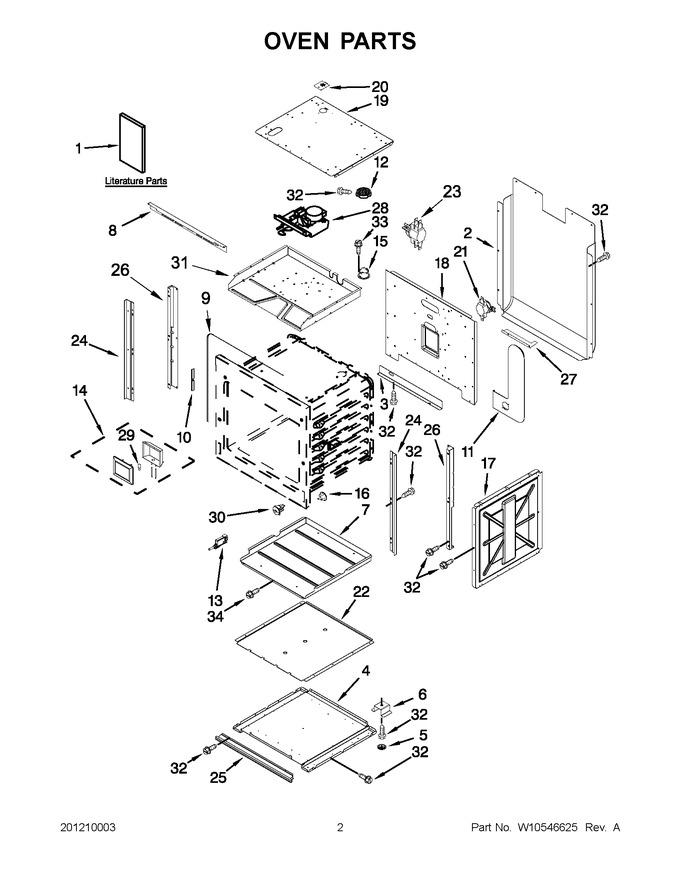 Diagram for JJW3430WR02