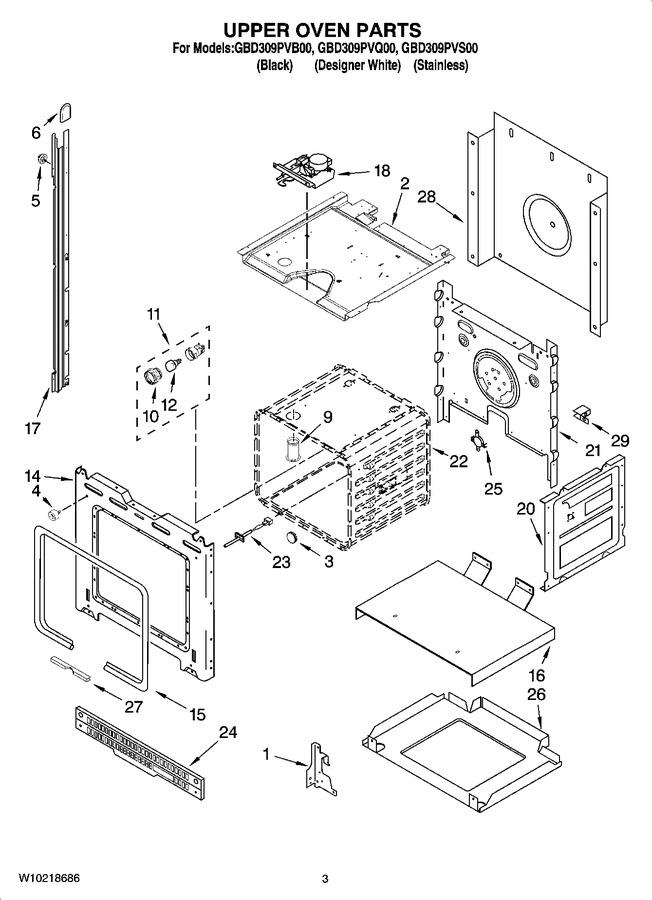 Diagram for GBD309PVB00