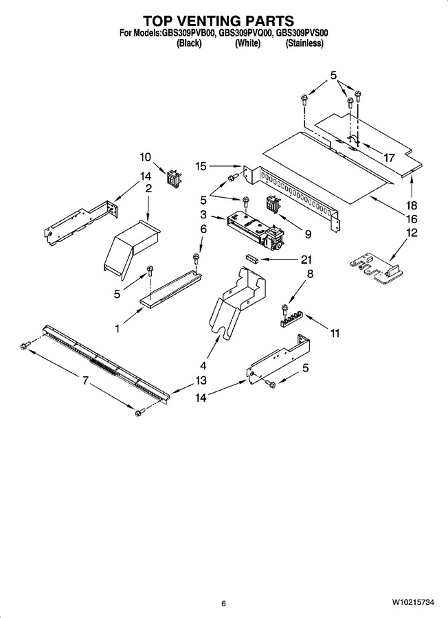 Diagram for GBS309PVB00