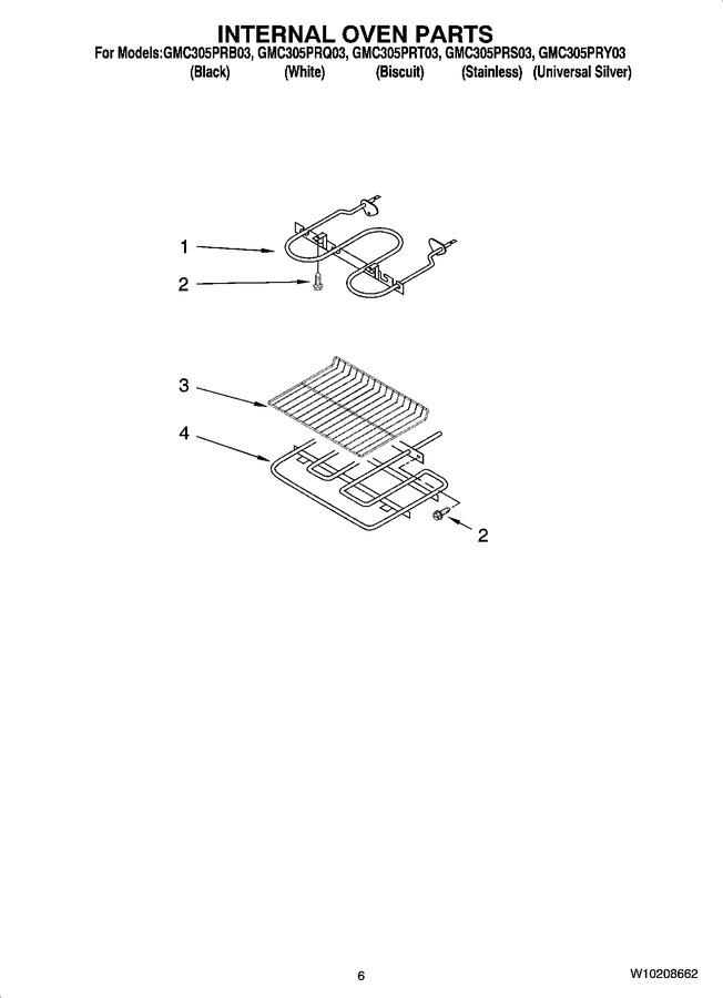 Diagram for GMC305PRT03