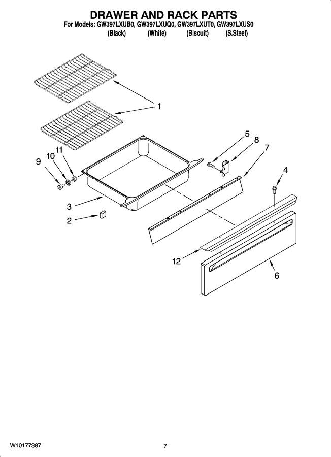 Diagram for GW397LXUT0