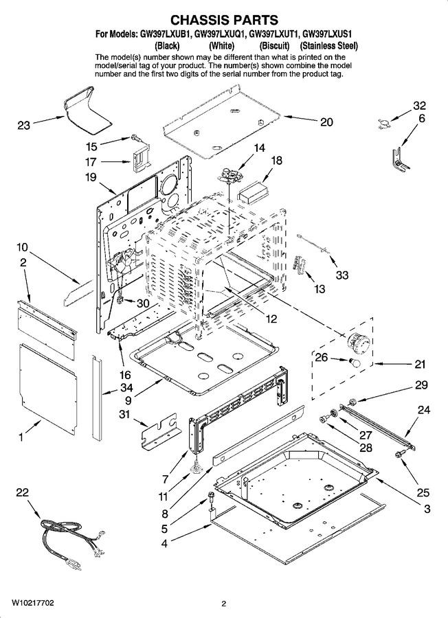 Diagram for GW397LXUT1