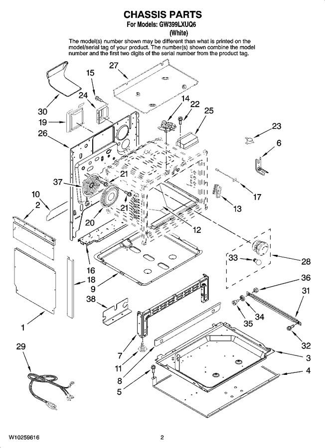 Diagram for GW399LXUQ6
