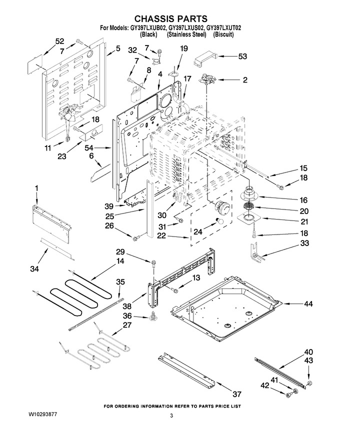 Diagram for GY397LXUB02