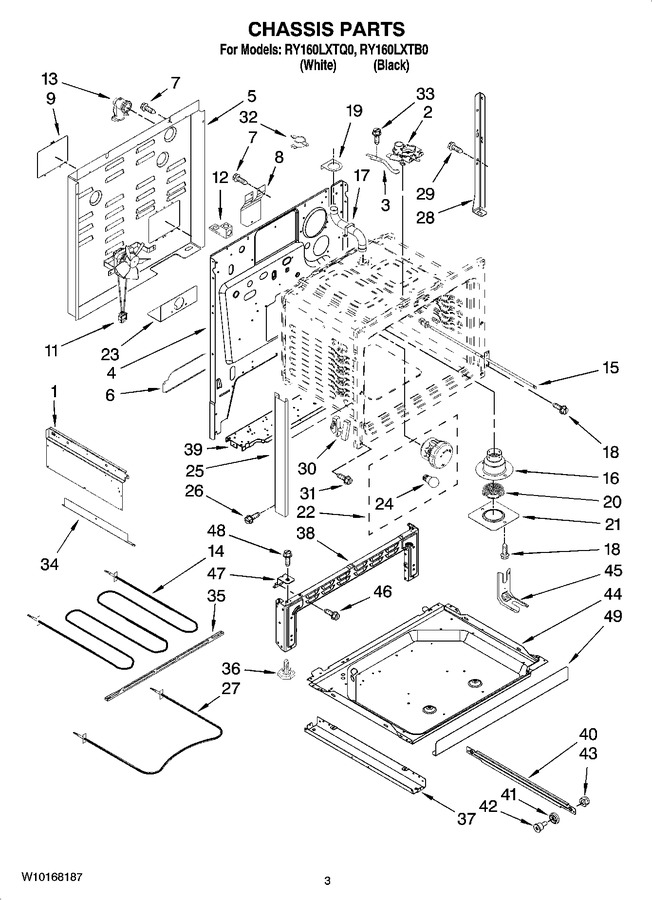 Diagram for RY160LXTB0