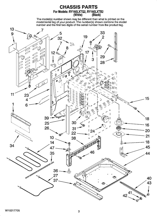 Diagram for RY160LXTB2