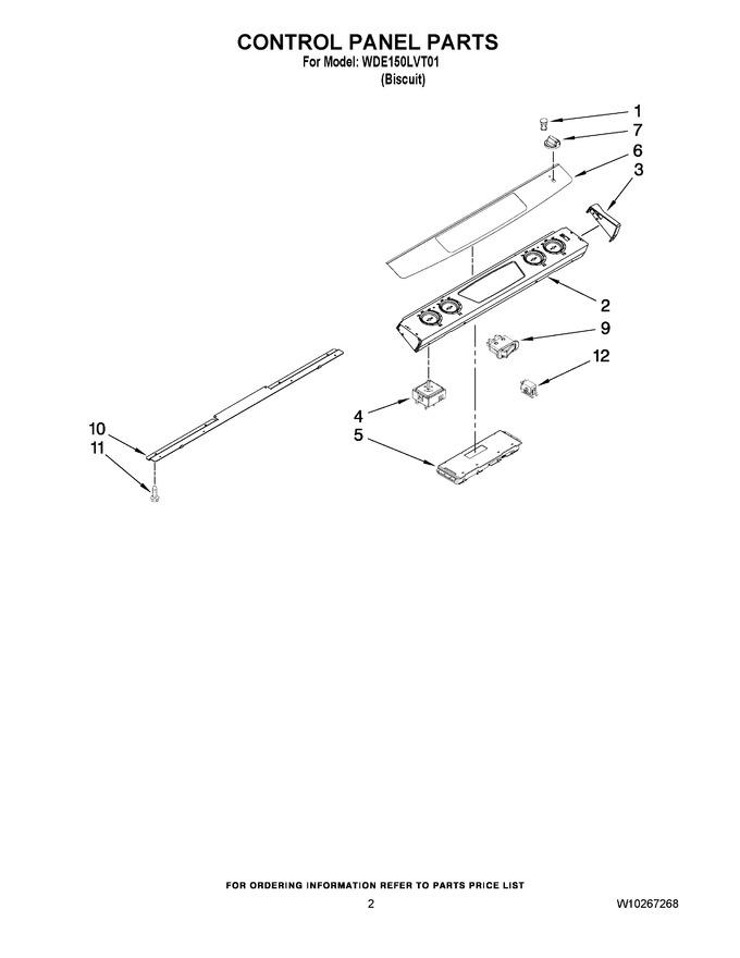 Diagram for WDE150LVT01C