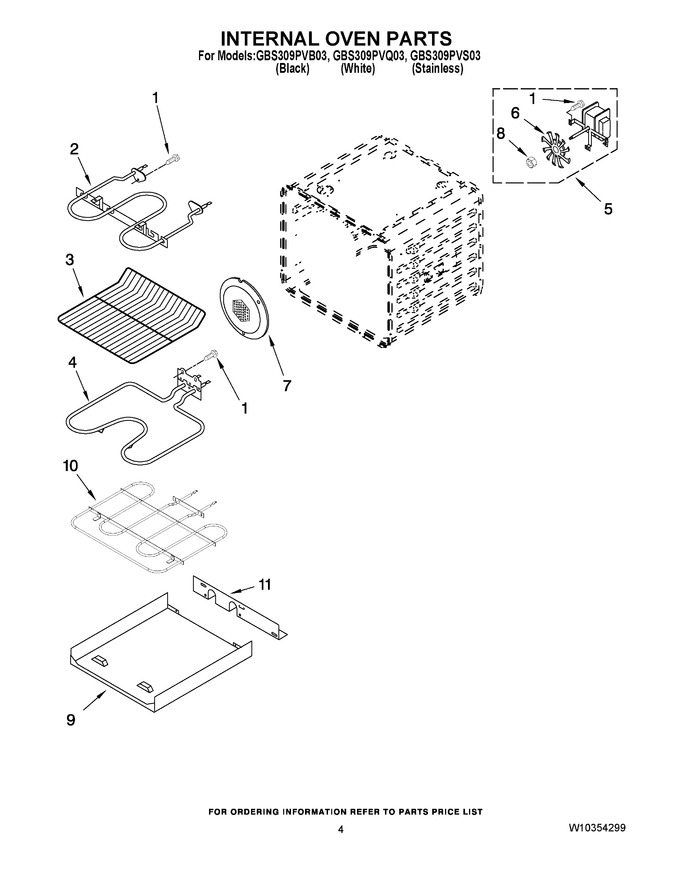 Diagram for GBS309PVQ03