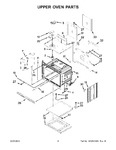 Diagram for 03 - Upper Oven Parts