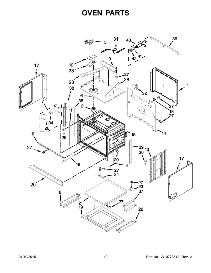 Diagram for KOCE500EWH00