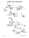 Diagram for 03 - Cabinet And Stirrer Parts