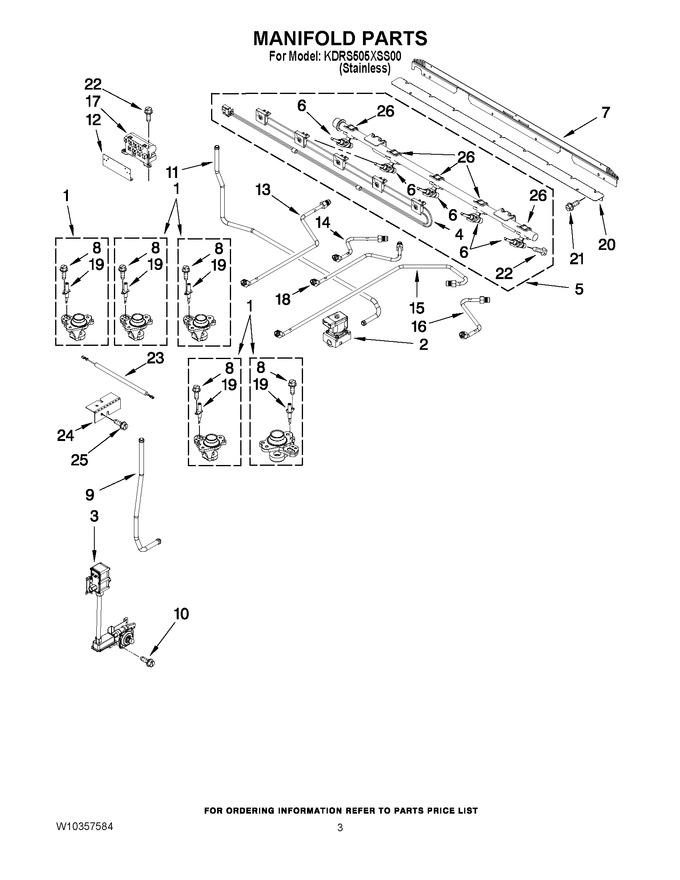 Diagram for KDRS505XSS00