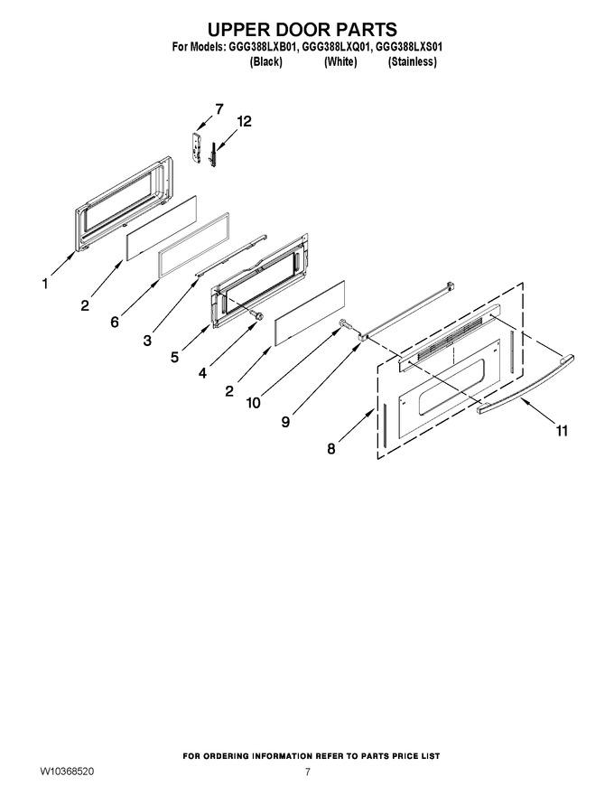 Diagram for GGG388LXB01