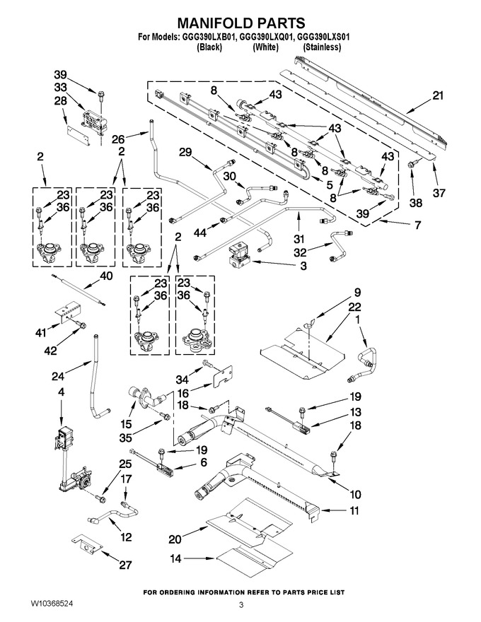 Diagram for GGG390LXB01