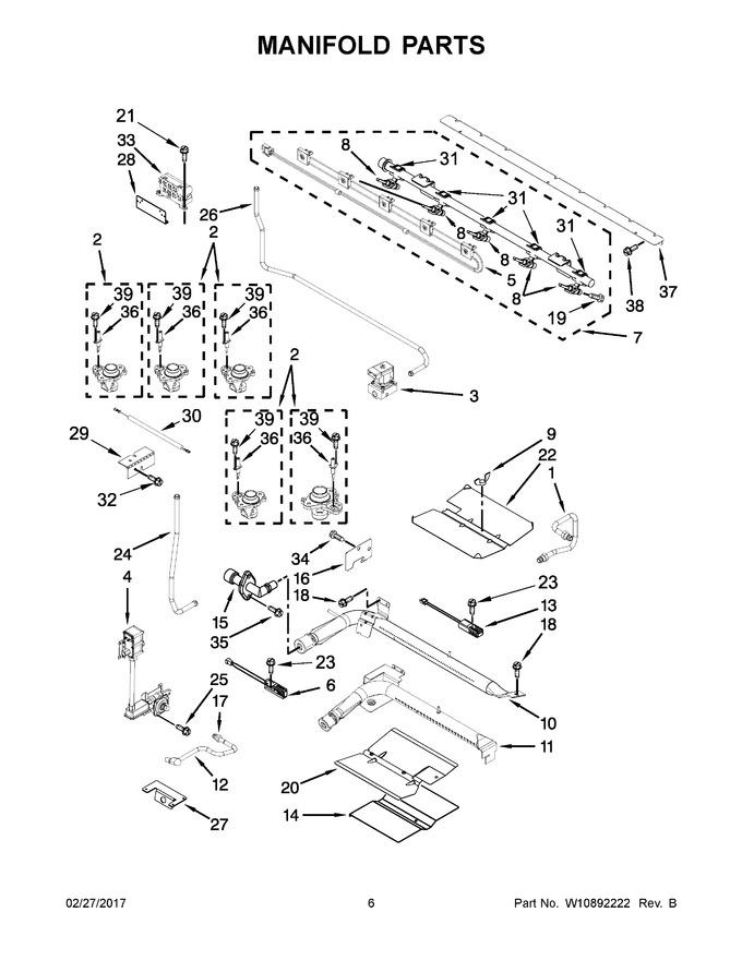 Diagram for KFGD500ESS04