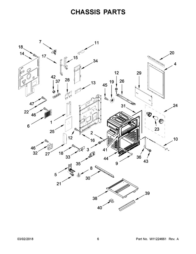Diagram for KFED500EWH03