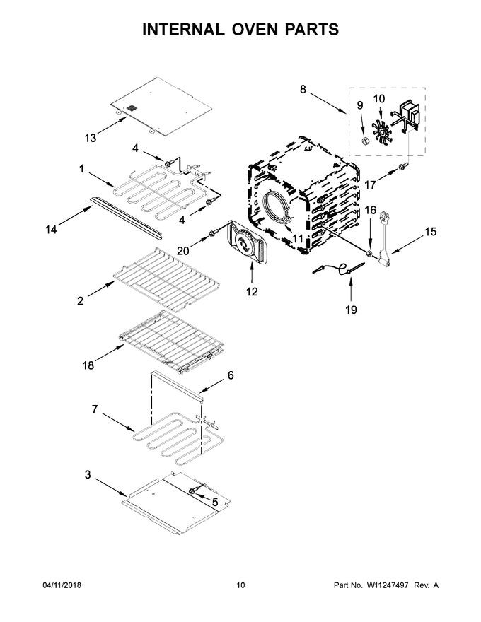 Diagram for KODE507EBS04