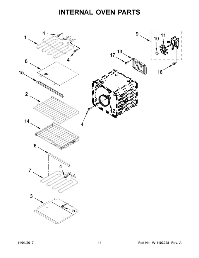 Diagram for KOCE500EBL06