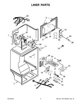 W10820003 Whirlpool Sub W11216993 Automatic Appliance