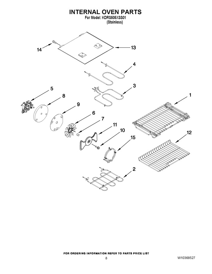 Diagram for KDRS505XSS01