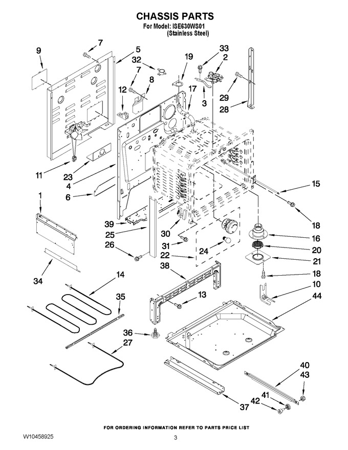 Diagram for ISE630WS01