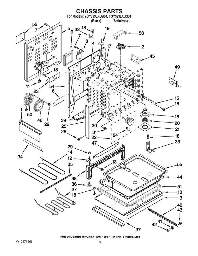 Diagram for YGY399LXUB04