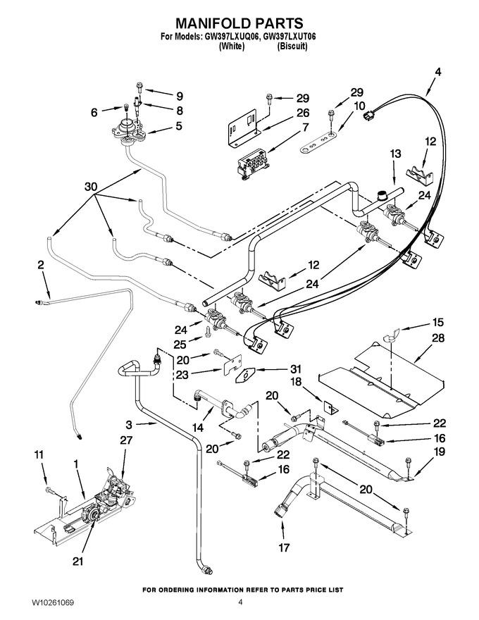 Diagram for GW397LXUT06