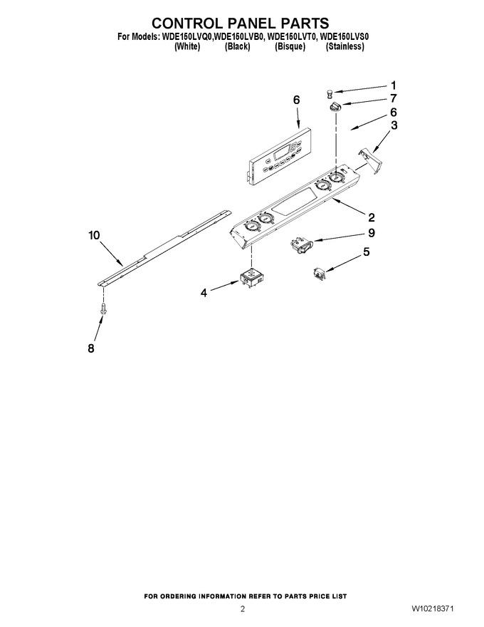 Diagram for WDE150LVB0