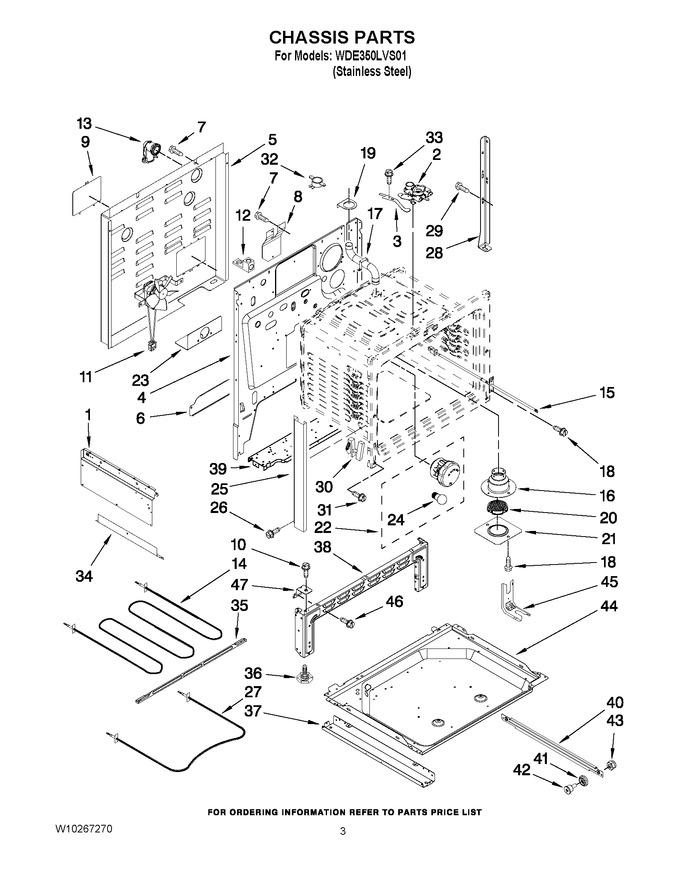 Diagram for WDE350LVS01
