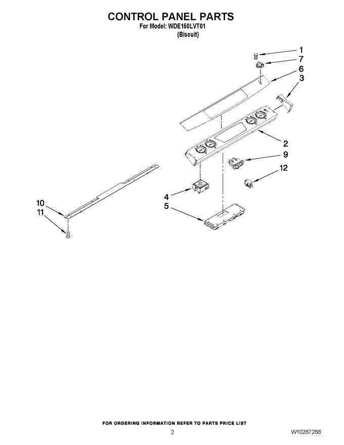 Diagram for WDE150LVT01