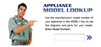 Learn About Our Great 'Look Up' Features via Model Number